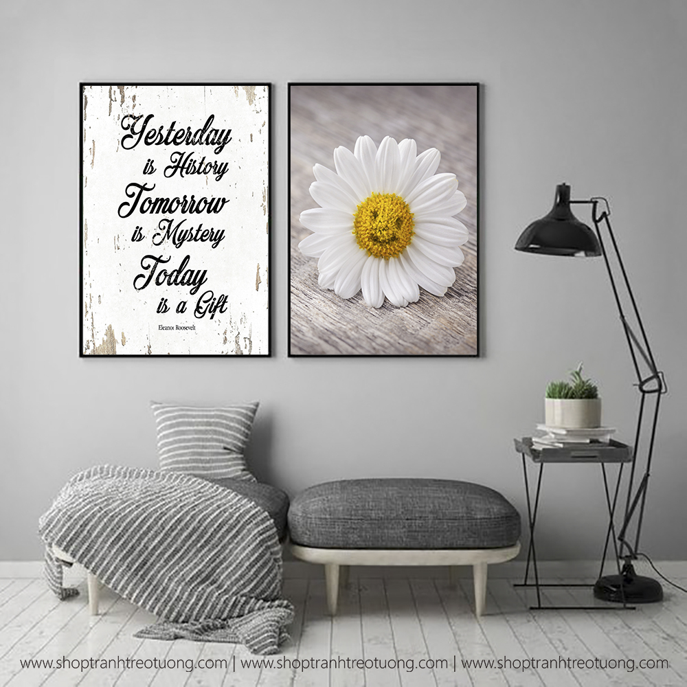Tranh decor: Today is a gift