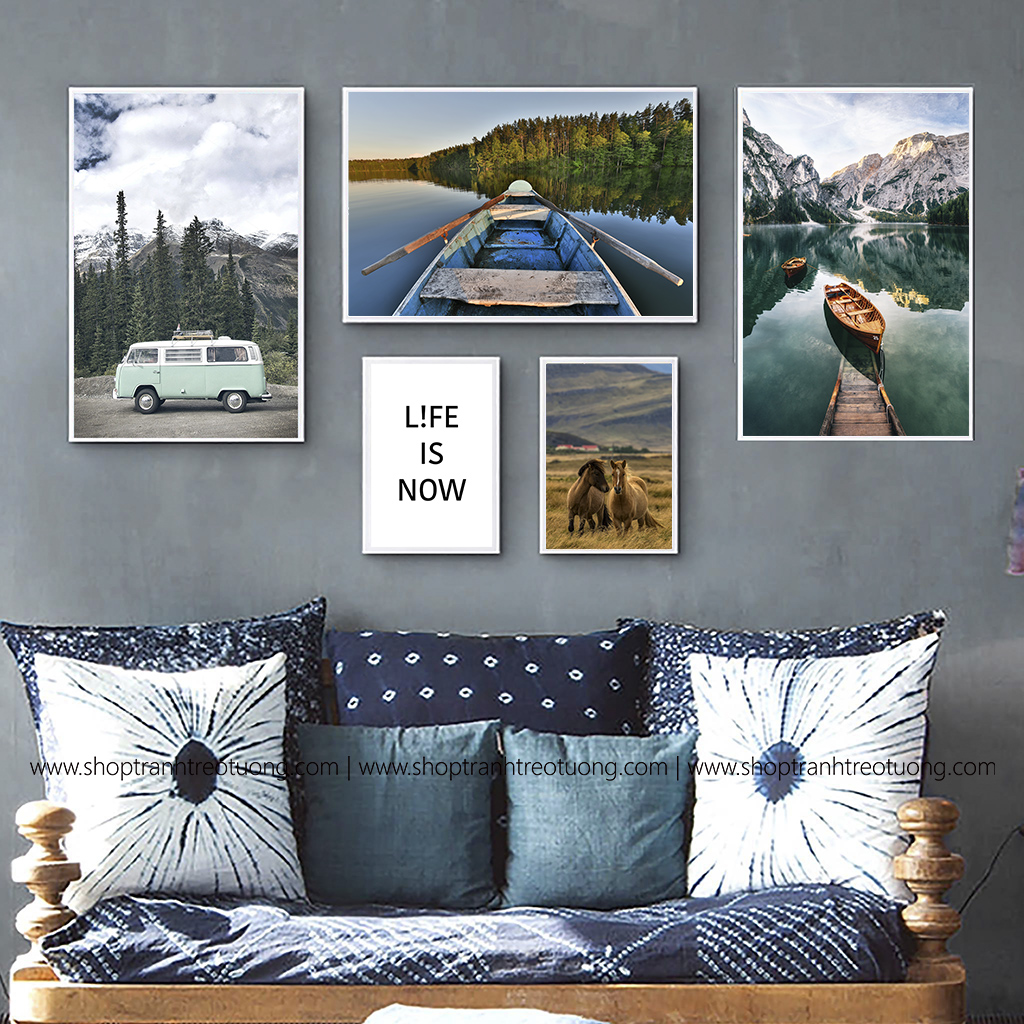 Tranh decor: Life is now